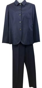 Kiton Kiton Napoli Made in Italy Navy 100% Cashmere Pant Suit 48
