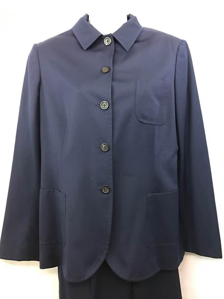 the best attitude c6eae 72f49 Kiton Navy Napoli Made In Italy Cashmere 48 Pant Suit Size 12 (L)
