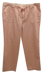 Venezia by Lane Bryant Wide Leg Pants Peach