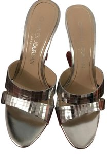 Charles Jourdan Silver Wedges