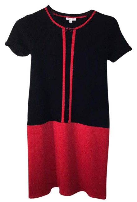 Item - Red and Navy Children's 10 Year Short Casual Dress Size 00 (XXS)