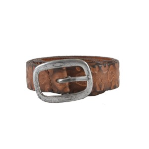 "Just Cavalli Just Cavalli Women's Brown 100% Leather Belt US M/33"" IT 90"