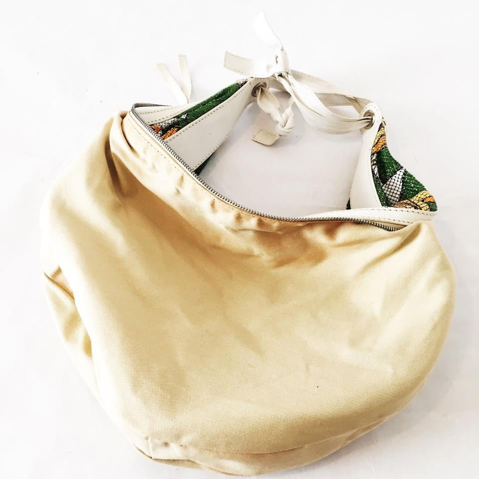 e01cf66ebef2 Chloé With Knot Leather Handle White Metal Mesh Hobo Bag - Tradesy