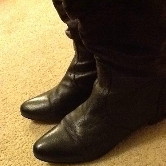 Steve Madden leather boots black Boots Image 1