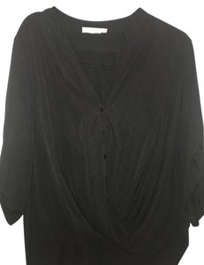 Lush Surplice Top black
