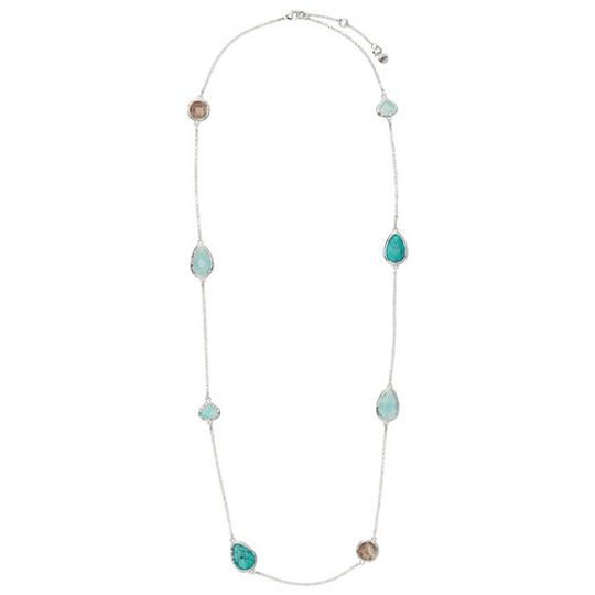 Preload https://img-static.tradesy.com/item/21726135/chloe-isabel-silver-and-green-miranet-hammered-long-station-necklace-0-0-540-540.jpg