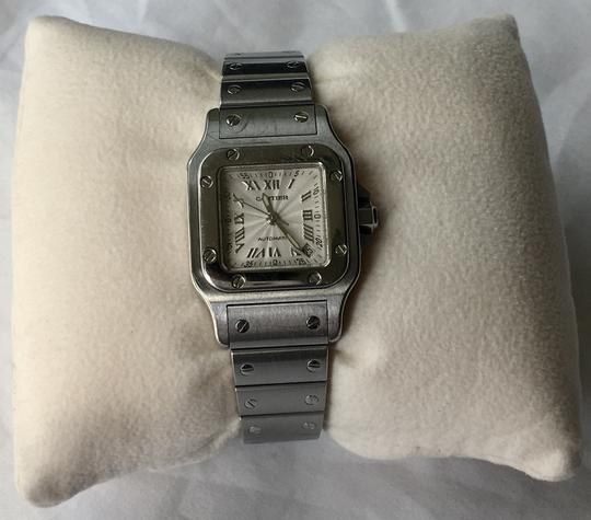 Cartier Cartier Santos Galbee Ladies Stainless Steel Automatic Watch Image 1