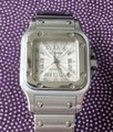 Cartier Cartier Santos Galbee Ladies Stainless Steel Automatic Watch Image 2