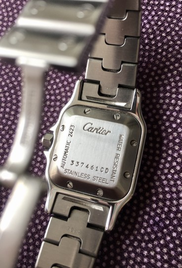 Cartier Cartier Santos Galbee Ladies Stainless Steel Automatic Watch Image 3