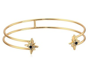Jennifer Miller Jewelry Brand New Double Cuff Bracelet with Stars