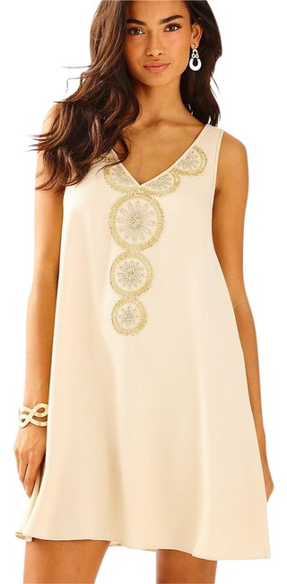 Item - Nude New Fia S Short Cocktail Dress Size 6 (S)