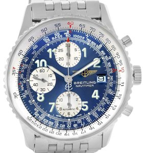 Breitling Breitling Navitimer II Stainless Steel Blue Dial Mens Watch A13322
