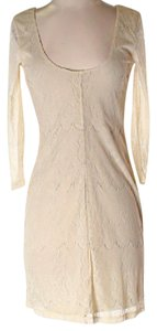 Pins and Needles short dress Beige on Tradesy