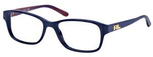 Ralph Lauren RL6119-5459 Rectangular Women's Blue Frame Genuine Eyeglasses