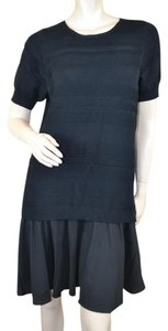 Timo Weiland short dress Black New York Edgy Cashmere on Tradesy