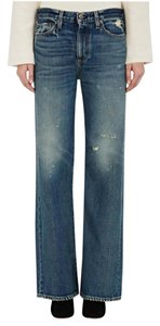 Simon Miller Trouser/Wide Leg Jeans-Distressed