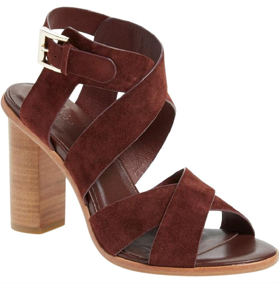 Joie 40 Red Avery In Oxblood 40 Joie Sandals a2fdf0