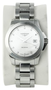 Longines * Longines Conquest Ladies Mother of Pearl and Diamonds Watch