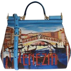 Dolce&Gabbana Dolce And Gabbana Miss Sicily Venezia Dauphine Shoulder Bag