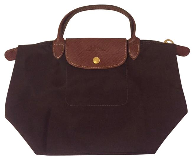 Item - New Small Le Pliages Brown Nylon Tote