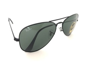 Ray-Ban Brand New Ray Ban Aviator Large Metal RB3025 L2823 58mm Black Frame