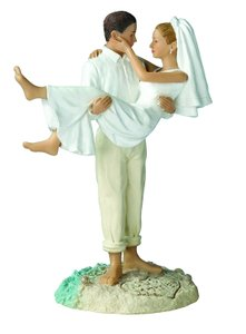 Just Married Beach Great For Outdoor Cake Topper