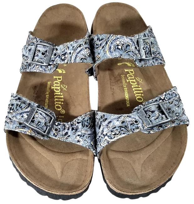 Item - Grey Floral Papillio Arizona Sandals Size US 8 Regular (M, B)