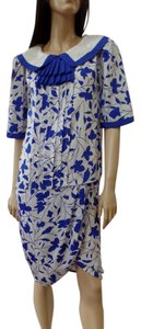 FLORA KUNG Sailor Collar Sailor Sarong Skirt Garden Dress