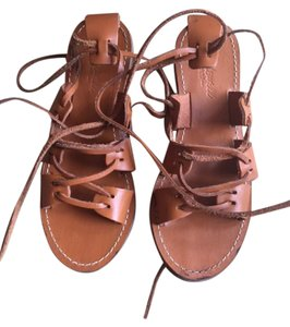 Madewell Gladiator Leather Summer Hip Brown Sandals