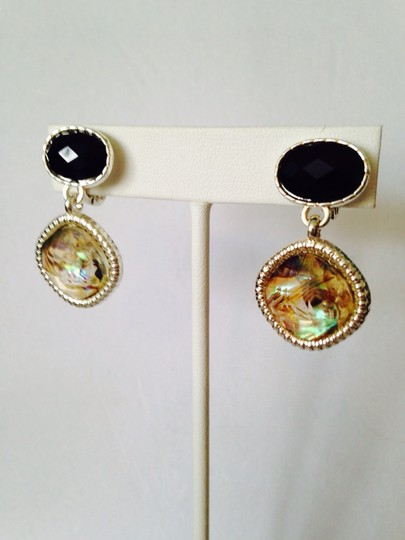 Napier 3-Piece Set, Faceted Black & Crystal Necklace & Earrings (2) Image 3