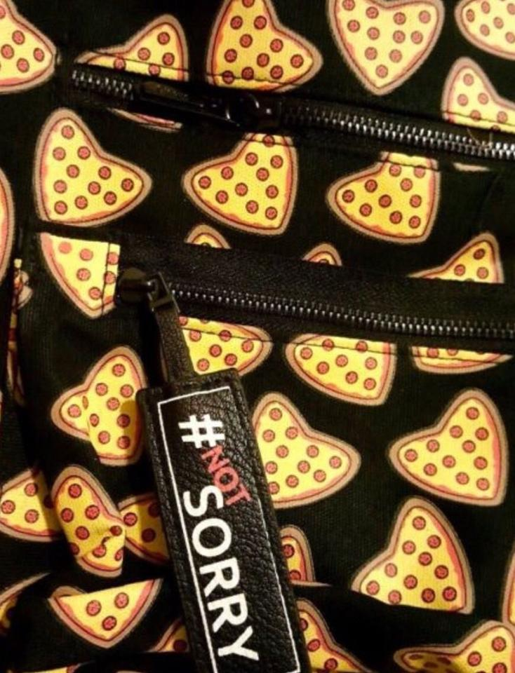 f50d526dcea9 Circus by Sam Edelman  pizza  Black Canvas Backpack - Tradesy