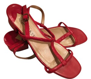 Bob Baker Strappy red Sandals