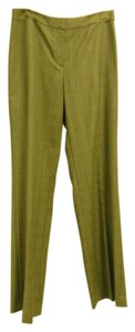 Lafayette 148 New York Trouser Pants Brown Plaid