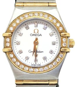 Omega Omega Ladies Constellation Diamond and Gold Watch