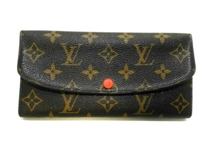 Louis Vuitton Louis Vuitton Emilie Wallet Red