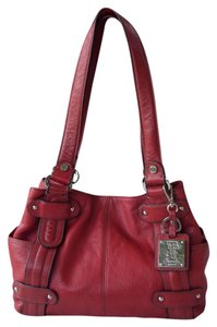 Tignanello Keychain Shoulder Bag