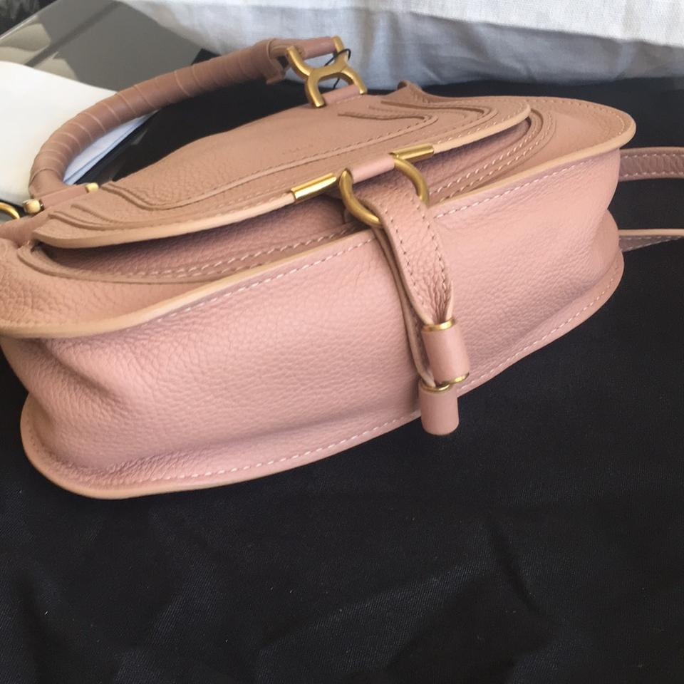 Marcie Leather Rose Pink Body Cross Chloé Bag dFqtUwd1n