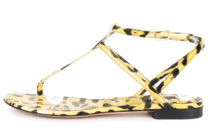 Dolce&Gabbana animal print Sandals