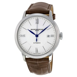 Baume & Mercier Automatic Ref# 10214 Stainless Steel Men's Watch