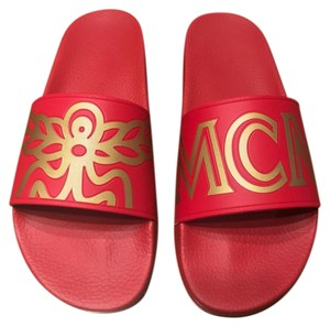 MCM red Sandals