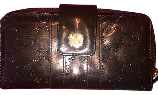 Item - Brown and Gold Sil-34114 Wallet