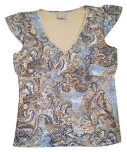 B. Moss Top blue, beige, brown