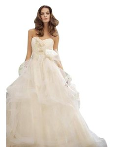 Tara Keely Ivory Tulles 2202 Formal Dress Size 4 (S)