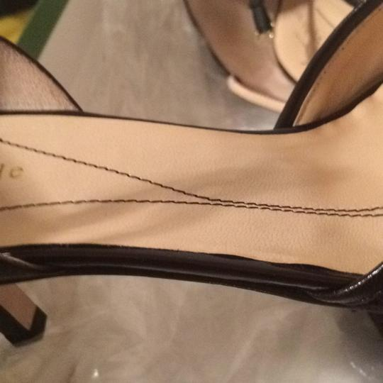 Kate Spade Two-piece D'orsay Chocolate brown Pumps