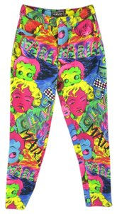 Versace Vintage Marilyn Monroe Betty Boop Gianni Relaxed Fit Jeans