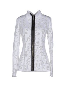 Anthony Vaccarello Lace White Jacket