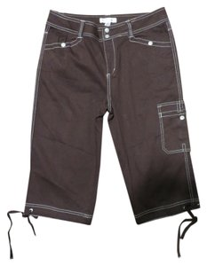 Coldwater Creek Capris Brown