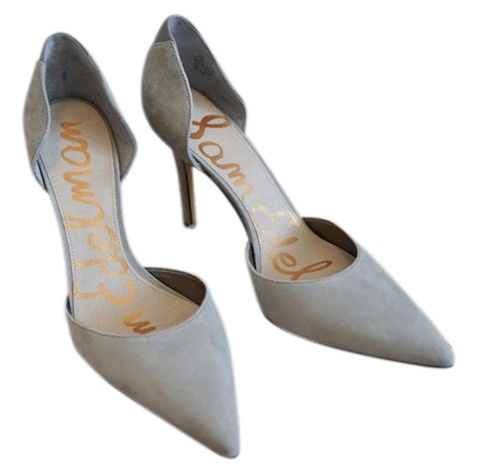 b5ba33d42 Sam Edelman Light Grey  delilah  D orsay Dress Pumps Size US 8.5 ...