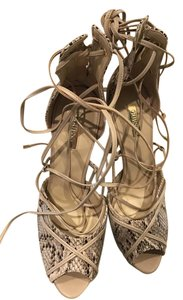 Guess By Marciano Python/neutral Sandals