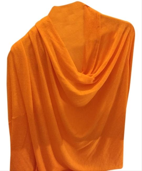 Oh My Gauze! Bright Spring Draped Casual Sweater